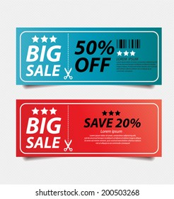 offers and promotions. vector template.