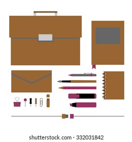 office accessories and stationery