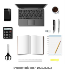 Office and bisiness supplies design template