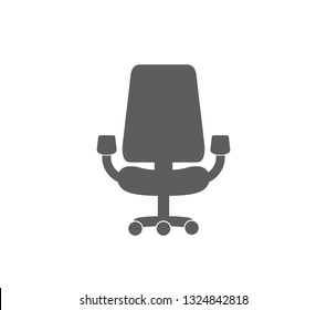 Office chair icon. Chair icon.
