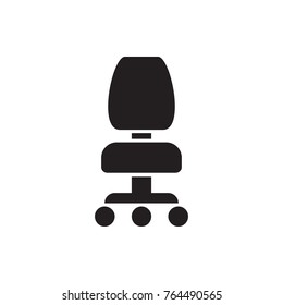 office chair icon illustration isolated vector sign symbol
