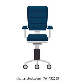 office chair isolated icon