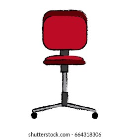 office chair wheel seat comfortable icon