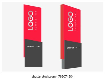 office exterior monument sign, pylon sign, signage, advertising construction