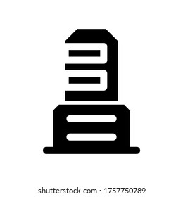 office icon or logo isolated sign symbol vector illustration - high quality black style vector icons