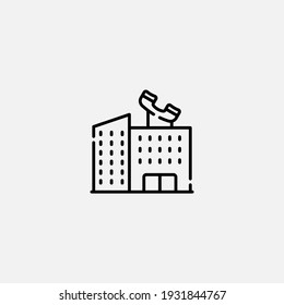 Office icon sign vector,Symbol, logo illustration for web and mobile