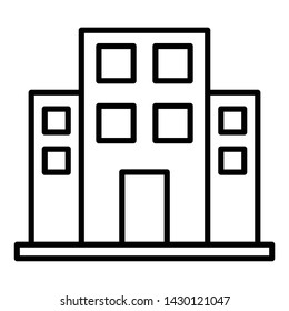 Office Icon, Vector Illustration, Business Outline
