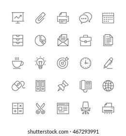 Office icons.