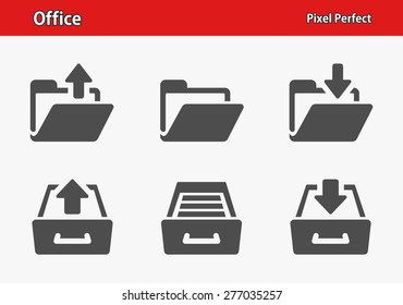 Office Icons. Professional, pixel perfect icons optimized for both large and small resolutions. EPS 8 format. Designed at 32 x 32 pixels.