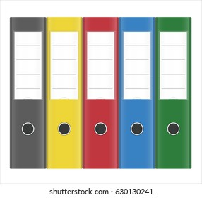 Office Lever Arch Ringbinder Folders