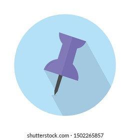 office push pin icon - From Map, Navigation, and Location Icons set