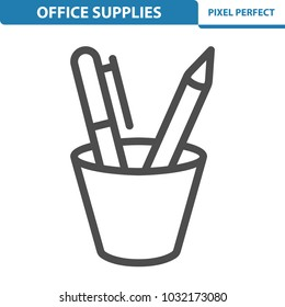 Office Supplies Icon. Professional, pixel perfect icons optimized for both large and small resolutions. EPS 8 format. 12x size for preview.