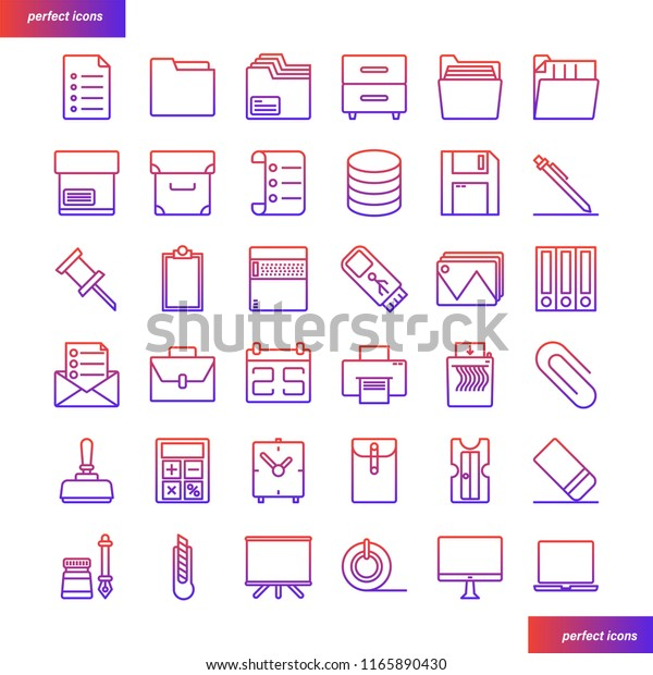 Office Supply Template from image.shutterstock.com