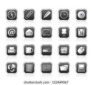 Office tools icons - vector icon set 2
