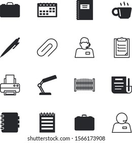 office vector icon set such as: mocha, break, lock, clip, cup, collection, hot, print, loan, home, email, hotline, deed, printer, credit, lease, image, year, yellow, decoration, card, attachment