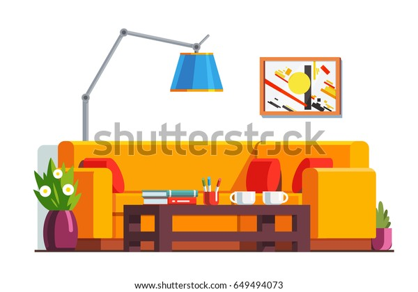 Awe Inspiring Office Waiting Room Home Living Room Royalty Free Stock Image Pabps2019 Chair Design Images Pabps2019Com