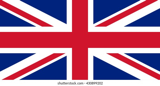 Official United Kingdom vector flag