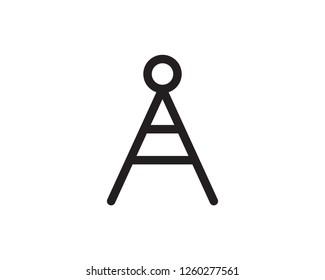 offline hotspot line icon illustration vector,offline hotspot icon illustration