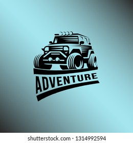 Off-Road Logo Template Illustration