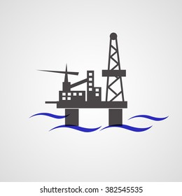 Offshore oil and rig platform (drilling)