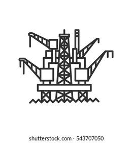 offshore oil station