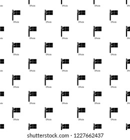 Offside pattern vector seamless repeating for any web design