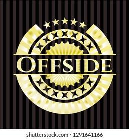 Offside shiny emblem