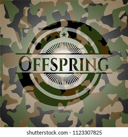 Offspring on camo pattern