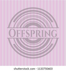 Offspring pink emblem