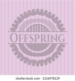 Offspring pink emblem