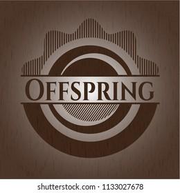 Offspring wood emblem