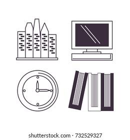 Ofiice icon set design