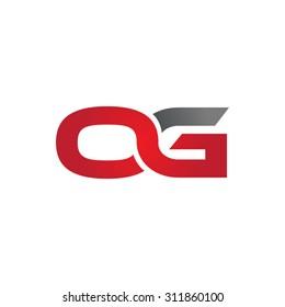 OG company group linked letter logo