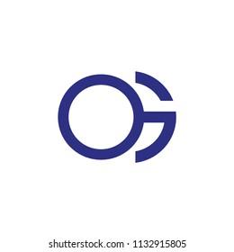 og letter vector logo