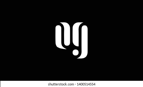 OG logo design template vector illustration minimal design