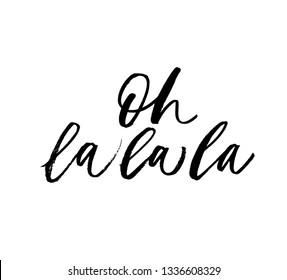 La la meaning ooh ooh la
