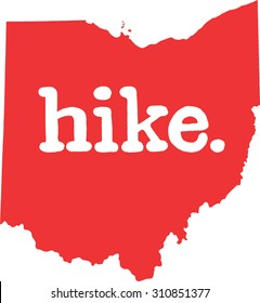 Ohio hike state vector sign