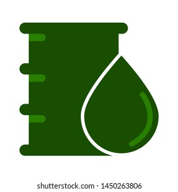 oil barrel icon. Logo element illustration. oil barrel design. colored collection. oil barrel concept. Can be used in web and mobile
