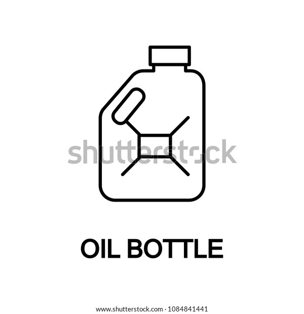 oil bottle icon. Element of car repair for mobile concept and web apps. Detailed  icon can be used for web and mobile. Premium icon on white background