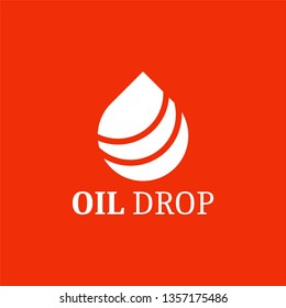 Oil drop logo, design inspiration vector template for industry company logo