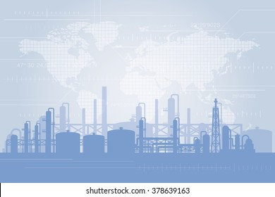 Oil and gas industry background