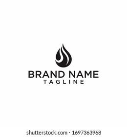oil and gas logo design vector