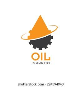 oil industry vector design template