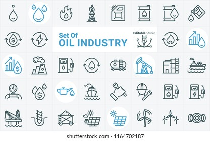 Oil Industry vector icon 06