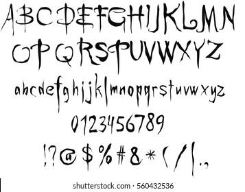 Gothic Alphabet Images, Stock Photos & Vectors | Shutterstock