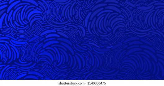 Oil painting style background.Dynamic shapes composition.Vector pattern in the style of impressionist paintings.