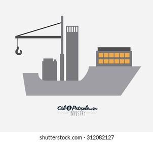 Oil and Petroleum digital design, vector illustration eps 10