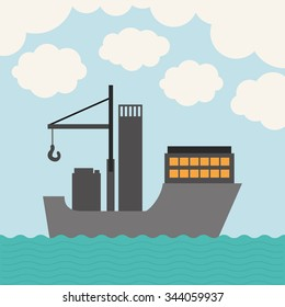 oil and petroleum industry design, vector illustration eps10 graphic