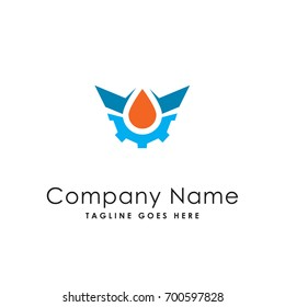 oil service logo template