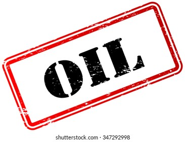 Oil Stamp Badge